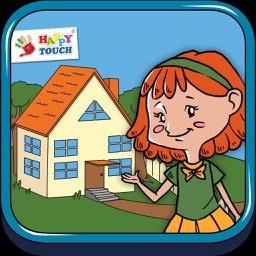 Anne zeigt ihr Zuhause - Erste Wörter Lern App für Kinder (von Happy-Touch Kinderspiele)