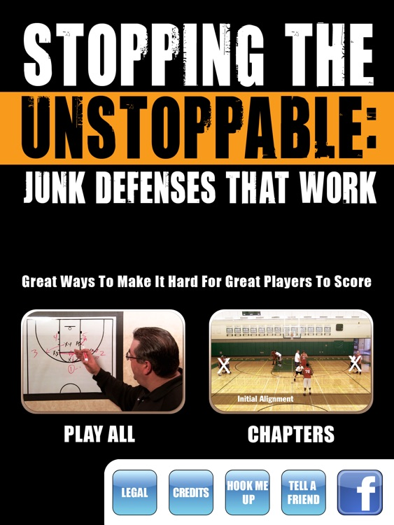 Stopping The Unstoppable: Junk Defenses That Work - with Coach Jamie Angeli - Basketball Instruction - Full Court - Level X Hoops - Plays - Teaching - Clinic - Video - Box & 1 - Triangle & 2 - Diamond - Zone - Practice -XL