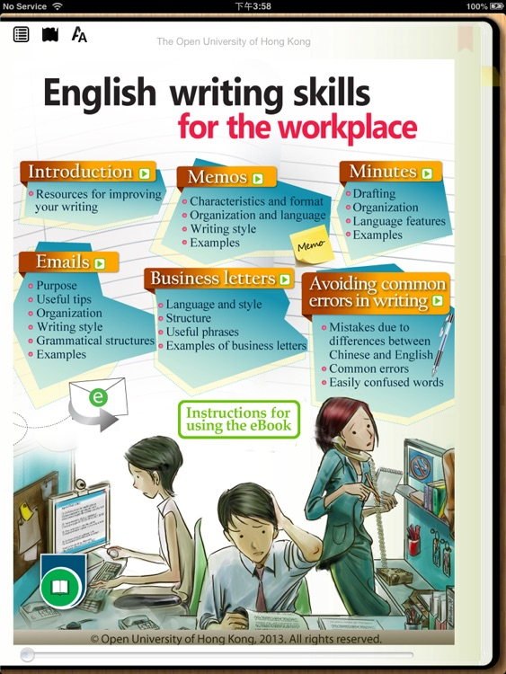 English writing skills for the workplace