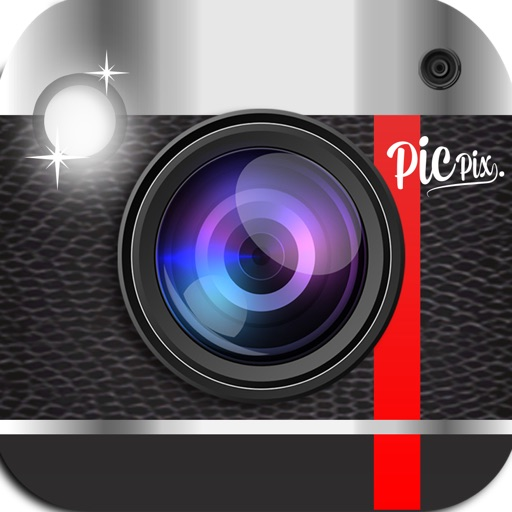 PicPix-Free, supercharge your pics and blast them onto facebook & twitter with this all in one camera, frame, effect photo app. Get it now!
