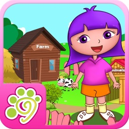 Anna's animals farm house - (Happy Box)free english learning toddler games