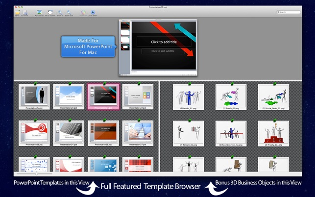 microsoft powerpoint templates for mac
