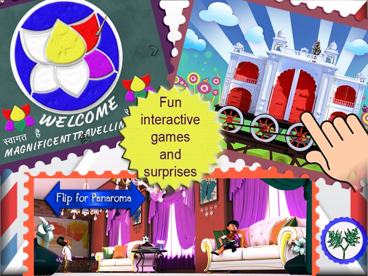 The Amazing Train- Interactive Storybook for Kids screenshot-2