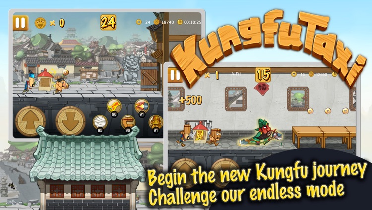 KungfuTaxi screenshot-1