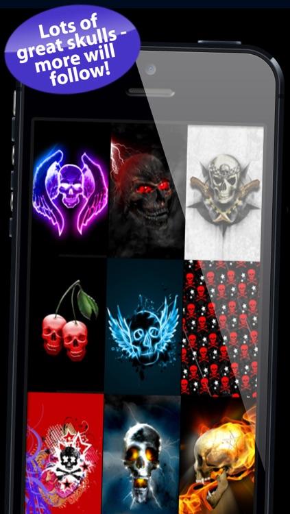 Skull & Halloween Backgrounds screenshot-3