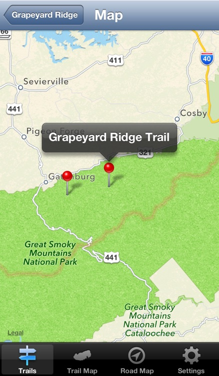 Smokies Hiking Trails screenshot-3