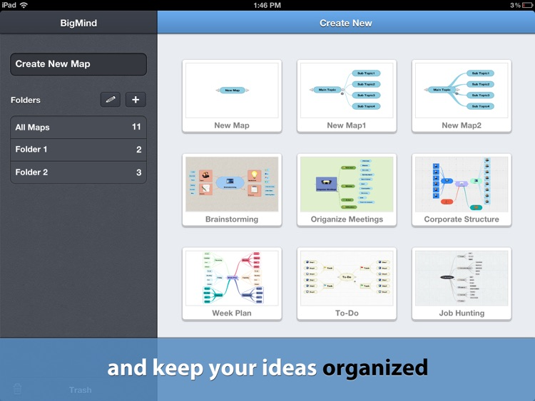 BigMind - Mind Mapping screenshot-2