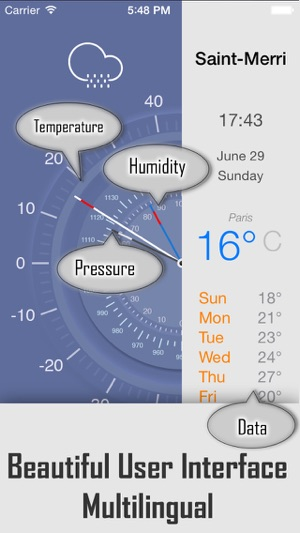 weather forecast app up to 7 days free weather report for your