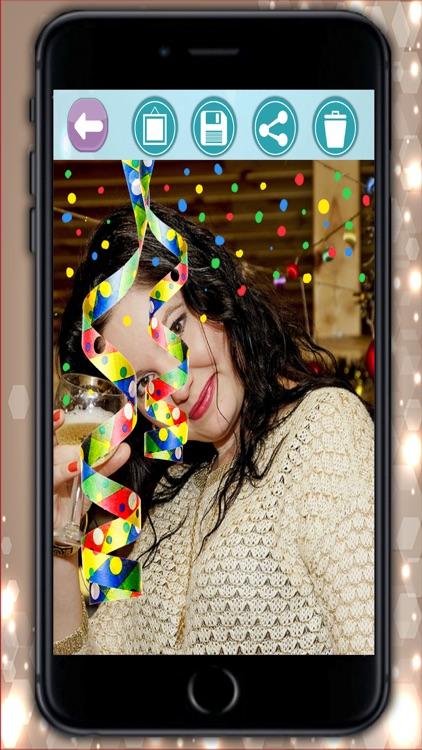 2017 Happy New Year Photo Frames Album & Collage screenshot-4