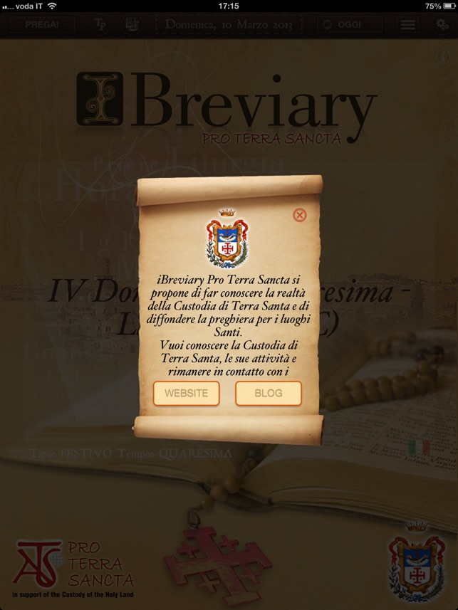 iBreviary Pro Terra Sancta HD Screenshot