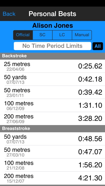 SwimChrono - Swim Event Timing and Data Management screenshot-4