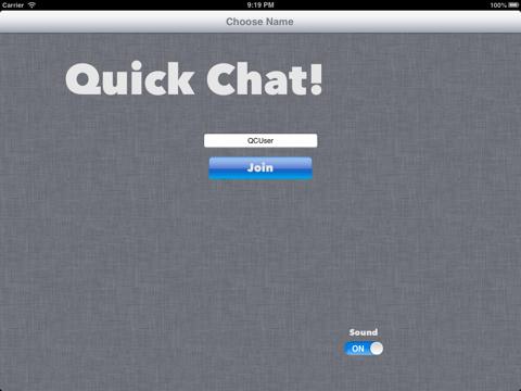 Quick Chat-ipad-0