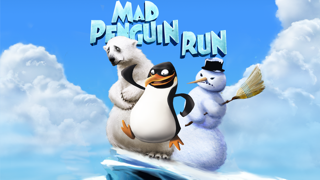 Mad Penguin Run Multiplayer Lite - Survive the Cold