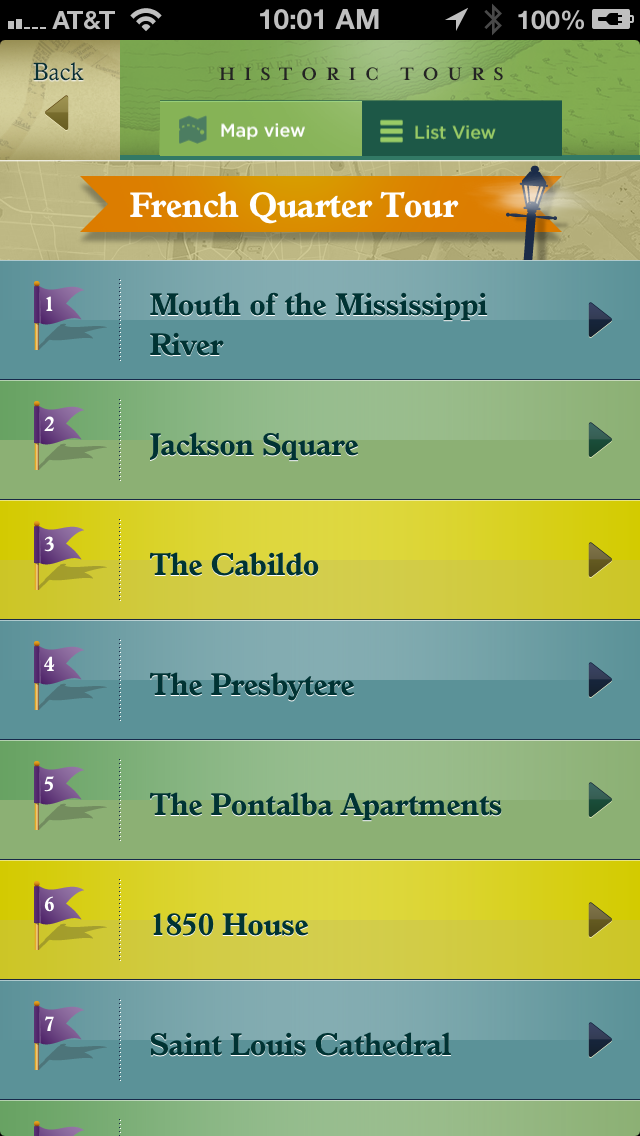 French Quarter, Garden District Historic Tours and New Orleans Streetcar Tracker screenshot four