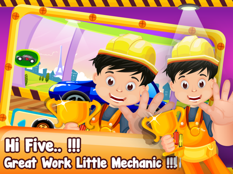 Little Car Builder- Tap to Make New Vehicles In Your Amazing Auto Factory-ipad-2