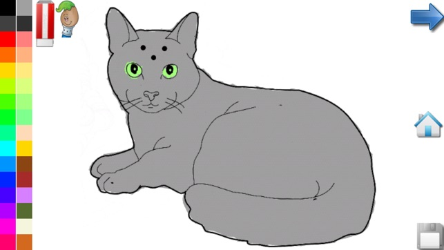 Coloring Book Cats And Kittens Pages For Toddlers On The App Store