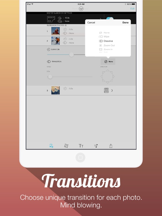 Photo Slideshow Free - Create Slideshow with Transitions and Background Music.