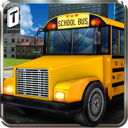 3D School Bus Driving Simulator : Kids Pick & Drop Game