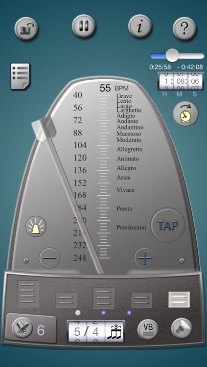 Lifelike Mechanical Metronome screenshot-0
