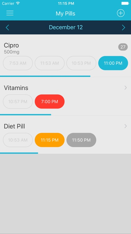 Easy Pill - medication tracker and reminder