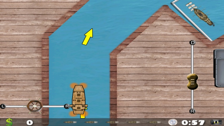 Pirate Ship Water Parking Mania - Fast Boat Driving Frenzy Free by
