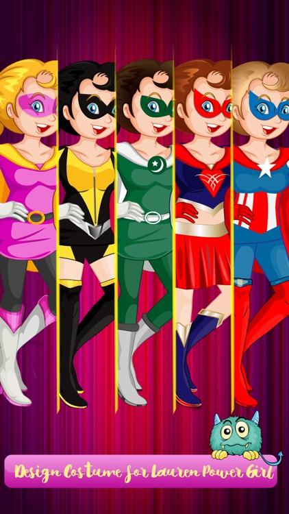 Power Girls Dress Up - Lovely Costumes Design Game For Girls