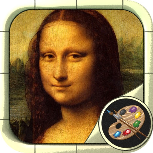 Coloring - World  Masterpieces