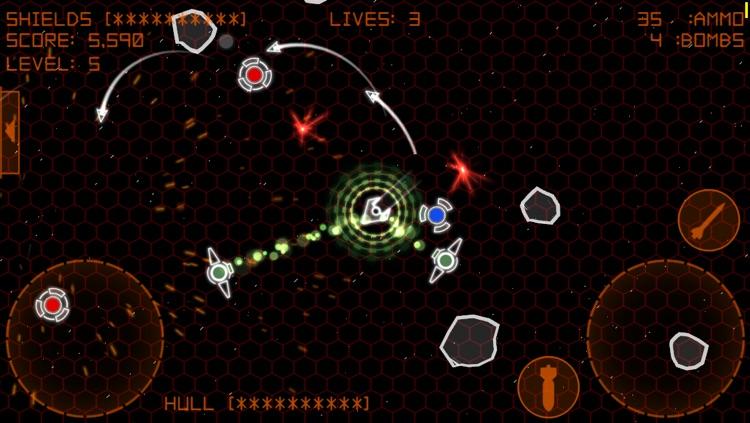 Alien Space Retro screenshot-3