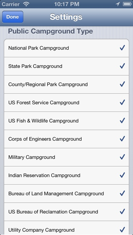 National and State Park Camping Guide -PRO screenshot-3