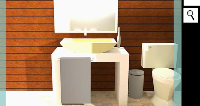 App store escape 3d bathroom for 3d bathroom design app