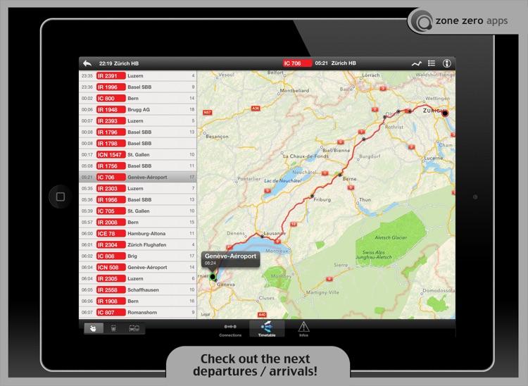 Swiss Transit Free (for iPad)