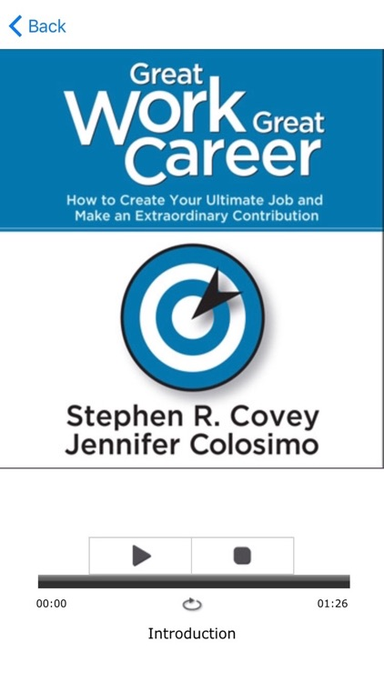 Great Work Great Career by Stephen Covey and Jennifer Colosimo screenshot-4