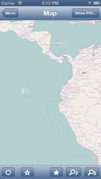 Ecuador Offline Map - PLACE STARS