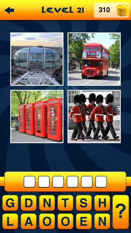 WordApp - 4 Pics, 1 Word, What's that word? screenshot-3