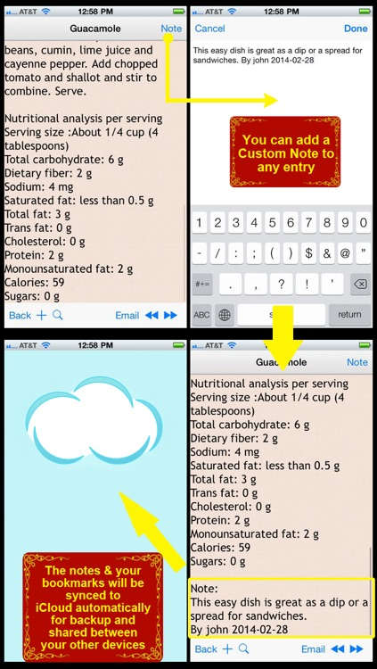 DASH Diet Recipes Plus+ screenshot-3