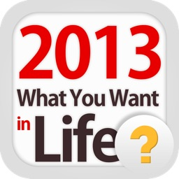 2013 What You Want in Life