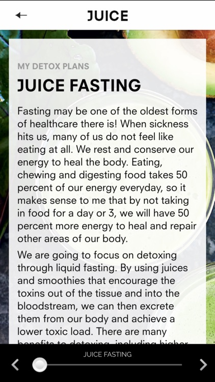Juice: Cleanse. Heal. Revitalise