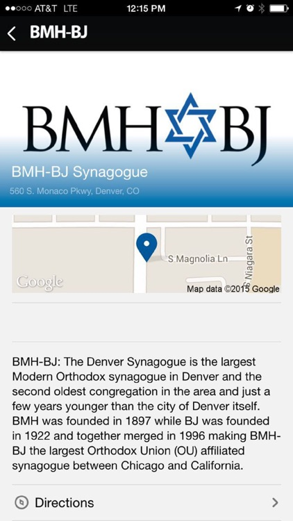 BMH-BJ Synagogue
