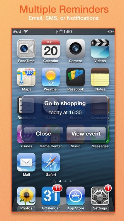 GCalendar Pro - Google Calendar Client screenshot-3