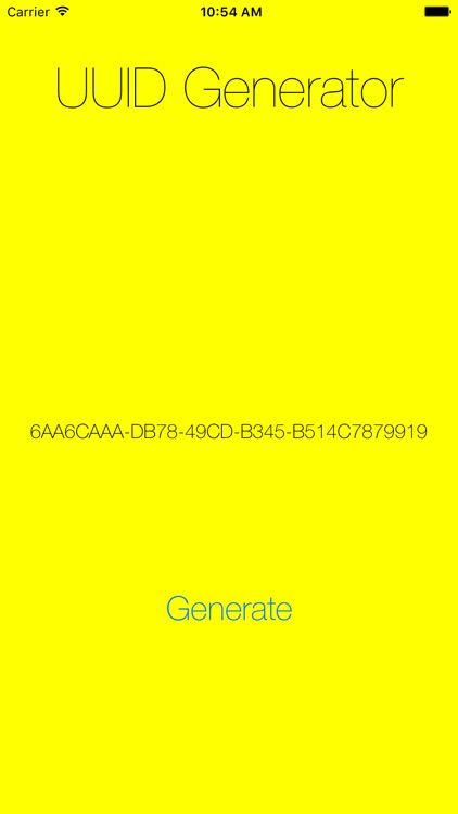 UUID Generator - Easily Generate Random UUIDs screenshot-0