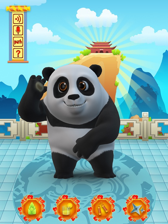 Talking Bruce the Panda for iPad screenshot-4
