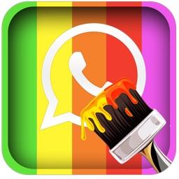 Amazing HD Skins: 150+ Retina Backgrounds for WhatsApp Chats