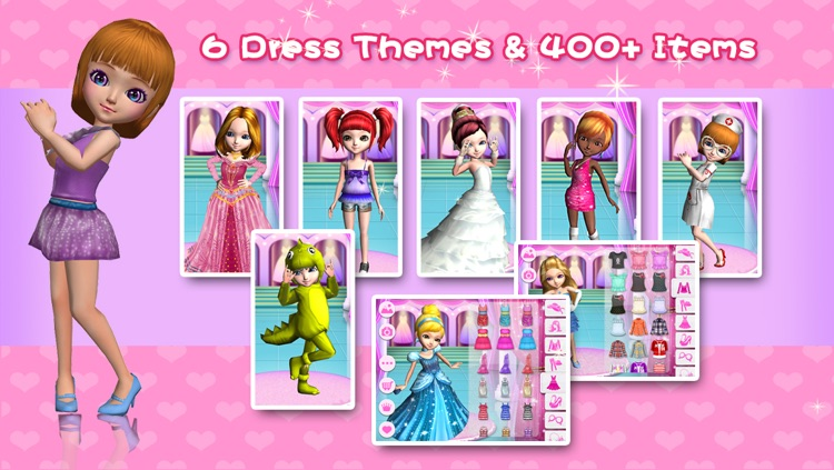 Coco Dress Up 3D screenshot-1