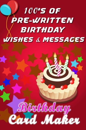 Birthday card maker wish happy birthday with best photo greeting iphone screenshots bookmarktalkfo Image collections