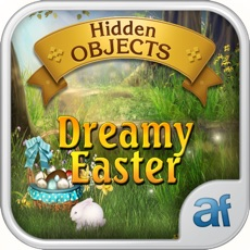 Activities of Hidden Objects Dreamy Easter