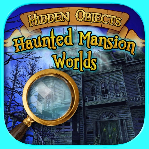 Hidden Objects: Haunted Mansion Worlds - Seek & Find Adventure Puzzle Games FREE