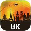 イギリス オフラインマップ、ガイド。ホテル、天候、旅行 ロンドン,ニューヨーク,マンチェスター,エディンバラ