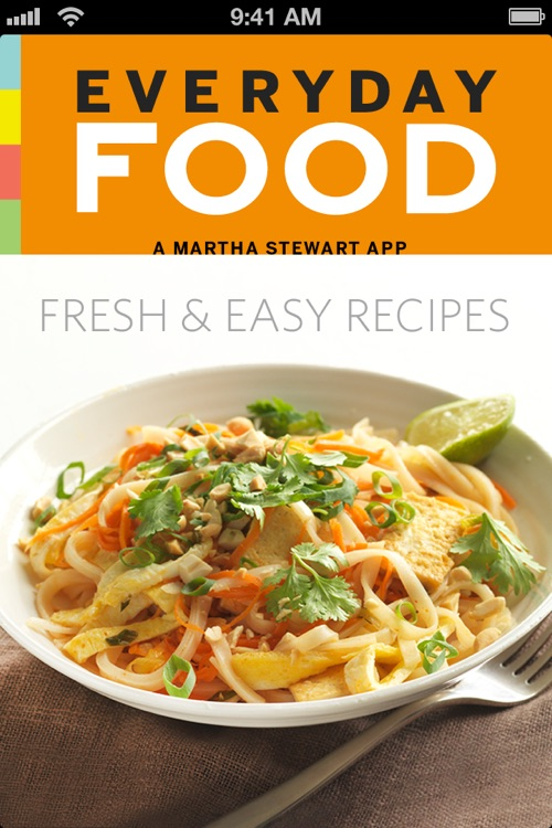 Martha's Everyday Food: Fresh & Easy Recipes screenshot-0