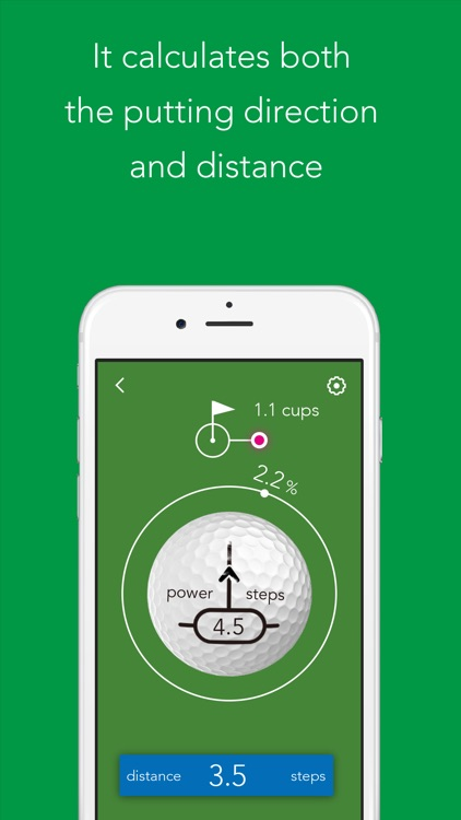 AimAid - Golf putting training app screenshot-3