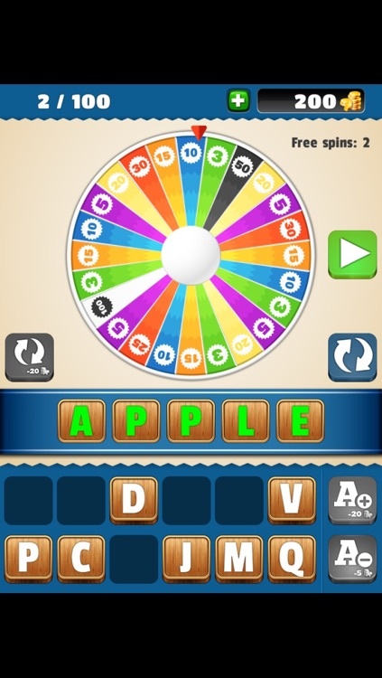 Find The Word - Reveal the the picture, guess the word and spin the wheel!